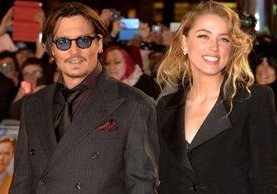 """Johnny Depp y Amber Heard se conocieron durante el rodaje de """"The Rum Diary"""" (2011) y se comprometieron en el 2014."""