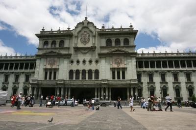 La Plaza Central será el punto de concentración de la manifestación de este sábado. (Foto Prensa Libre: Hemeroteca PL)