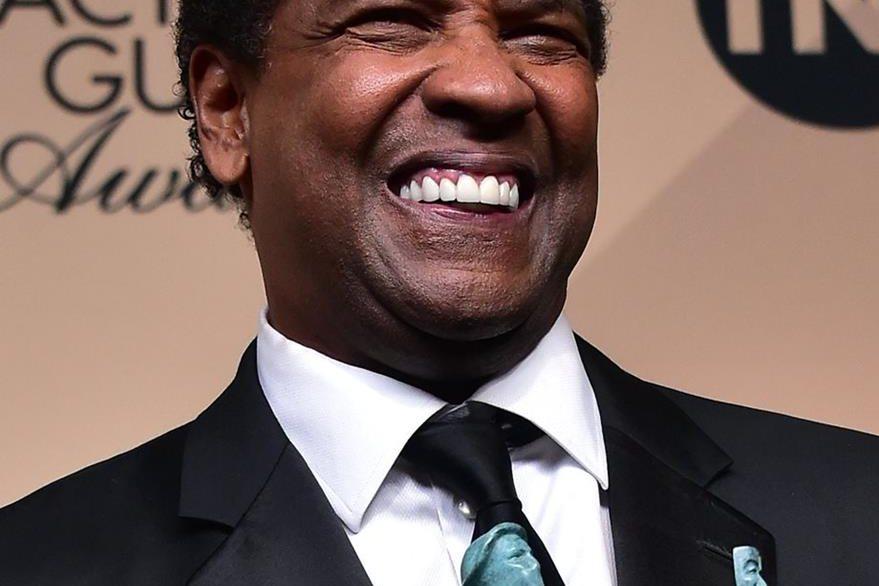 Denzel Washington gana como mejor actor en los premios SAG.