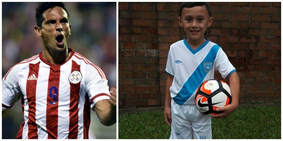 Roque hizo realidad el sueño de su más grande seguidor en Guatemala. (Foto Prensa Libre: TodoDeportes)