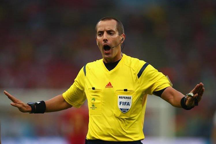 Mark Geiger será el árbitro en el duelo entre México y Honduras. (Foto Prensa Libre: Hemeroteca PL)