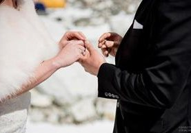 La pareja no quería una boda tradicional. (Foto Prensa Libre: Charleton Churchill)