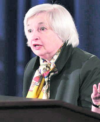 Janet Yallen, presidenta de la Reserva Federal de EE. UU. (Foto: Hemeroteca PL)