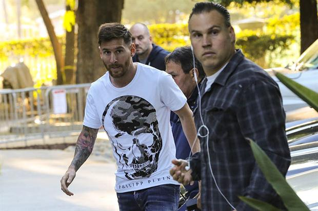 Lionel Messi se unió este viernes a la concentración de Argentina en Estados Unidos. (Foto Prensa Libre: La Nación de Argentina)