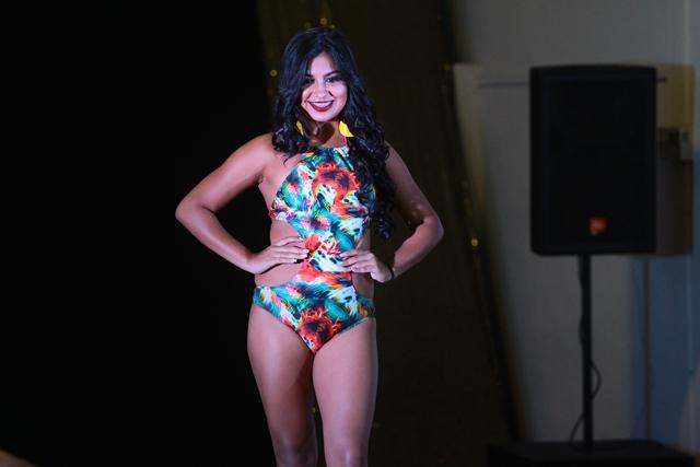 Mónica Olivares, 18 años y representa a Amatitlán. (Foto Prensa Libre: Álvaro Interiano)