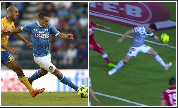 Giménez y Baselli fueron los protagonistas por acciones diferentes en la jornada de la Liga Mexicana. (Foto Prensa Libre: Agencias)