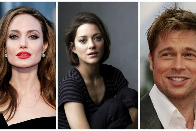 Los actores Angelina Julie, Marion Cotillard y Brad Pitt podrían estar en un triángulo amoroso. (Foto Prensa Libre: Hemeroteca PL)