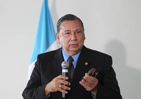 Vicepresidente Juan Alfonso Fuentes Soria. (Foto Prensa Libre: Hemeroteca PL)