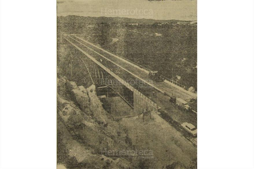 El 18/11/1958 es inaugurado el Puente Belice, para conectarlo a la carretera al Atlántico.(Foto: Hemeroteca PL)