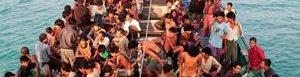 Migrantes en Birmania.