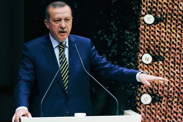 """Recep Tayyip Erdogan tildó las declaraciones del Papa sobre el genocidio armenio como """"estupideces"""". (Foto Prensa Libre:AP)."""