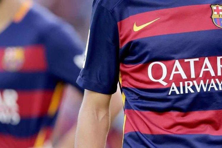 EL FC Barcelona renovó su contrato con Catar Airways. (Foto Prensa Libre: Hemeroteca)