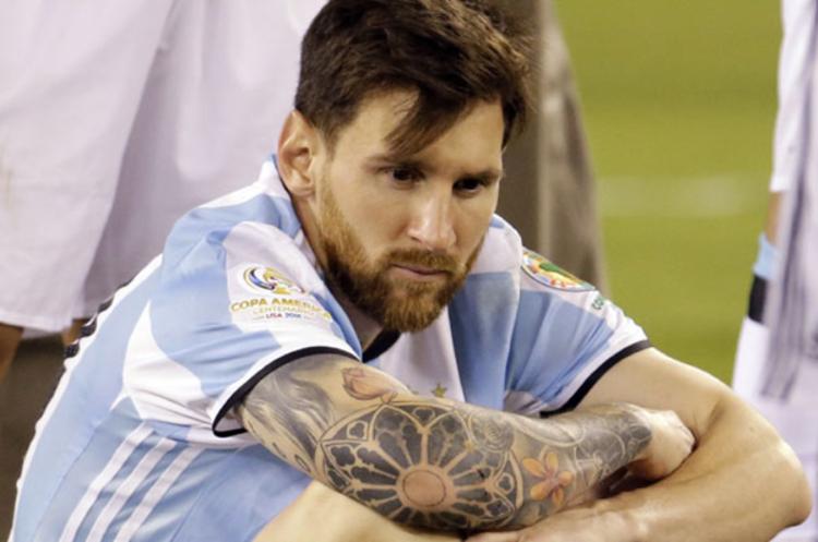 La más grande frustración de Lionel Messi es no poder ser campeón del Mundo con Argentina. (Foto Prensa Libre: Hemeroteca PL)