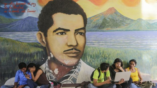 El poeta Rigoberto López Pérez mató al fundador de la dinastía de los Somoza. AFP