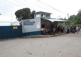 En el Centro de Prevención Preventiva guardaron prisión los tres hombres que hoy fueron enviados a terminar su condena a México. (Foto Prensa Libre: Hemeroteca)