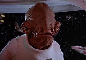 """Almirante Ackbar en célebre escena de Star Wars en la que dice """"Es una trampa"""". (Foto Prensa Libre: Hemeroteca PL)"""