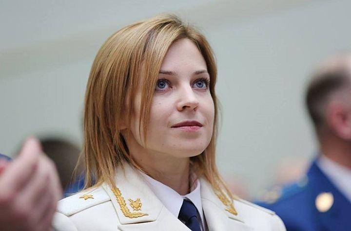 La joven política, Natalia Poklonskaya, es perfilada como potencial sucesora del presidente de Rusia, Vladimir Putin. (Foto Twitter/@NPoklonskaya).