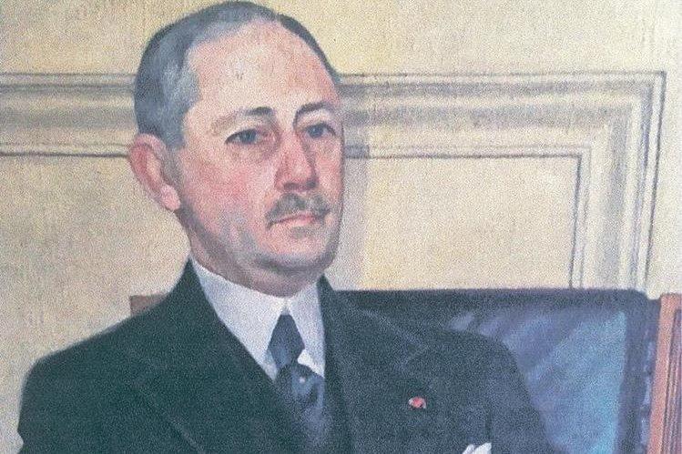 Dr. José Matos Pacheco. Retrato de su hija, Antonia Matos de Massot.