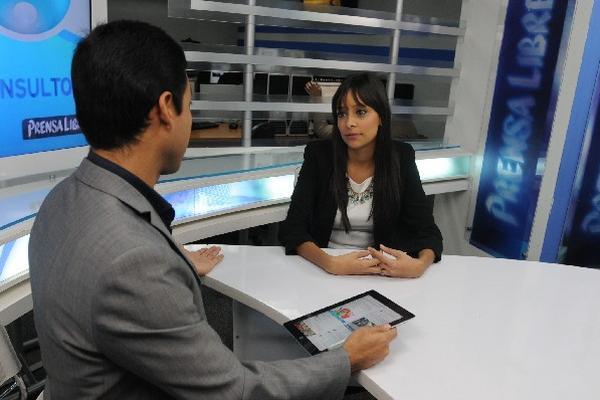 Andrea de Carranza, durante El Consultorio.