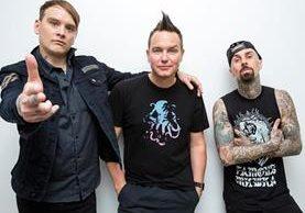 La banda estadounidense de punk, Blink 182, lanzó este jueves un nuevo sencillo. (Foto Prensa Libre: HemerocaPL)