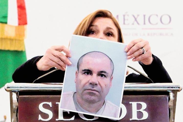 La PGR de México dice que esta es la última imagen oficial del capo. (Foto Prensa Libre: EFE).