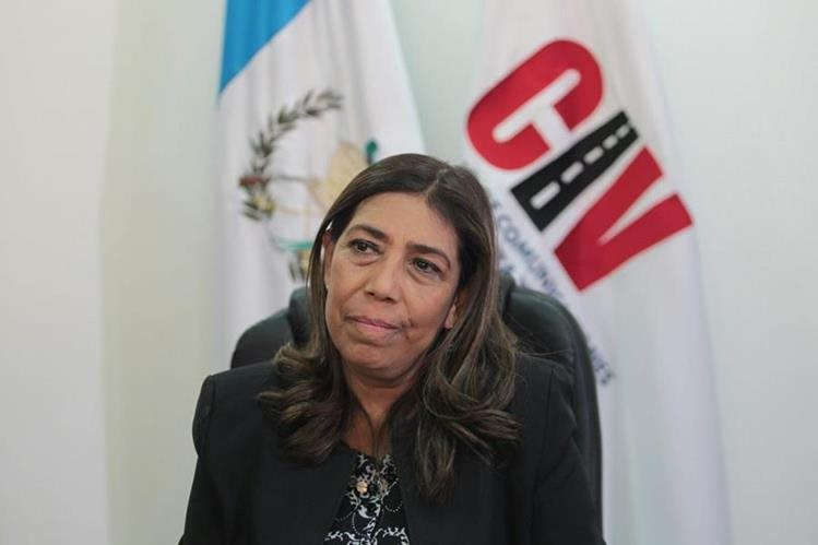 Sherry Ordoñés, ministra de Comunicaciones, reconoció que fue contratista del Estado. (Foto Prensa Libre: Erick Ávila)