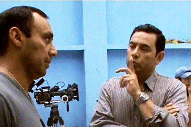Byron Lima Oliva recibió al comediante Jimmy Morales en la cárcel. (Hemeroteca PL)