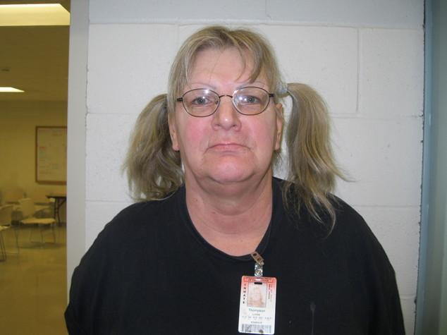 Linda Patricia Thompson, de 59 años, dijo que quería volver a prisión, por eso robó de nuevo. (Foto Prensa Libre: AP).