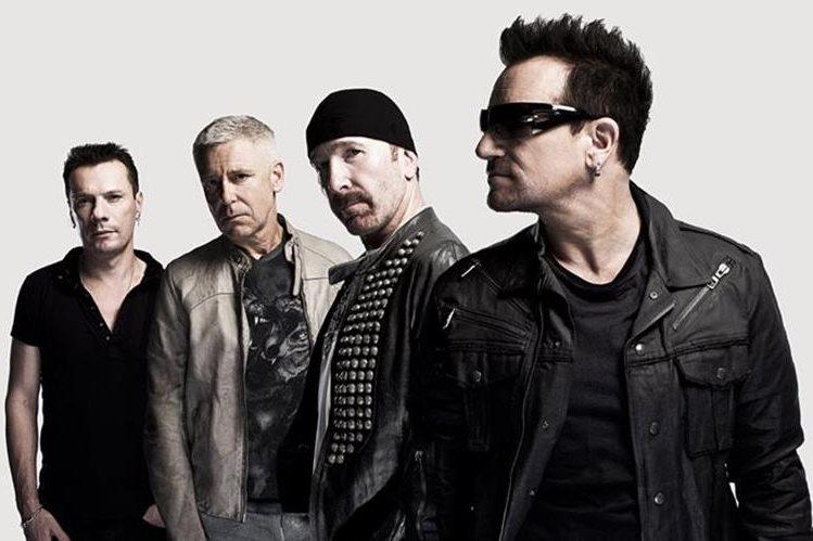 La banda irlandesa de rock U2 tiene más de 40 años de trayectoria. (Foto: Hemeroteca PL).
