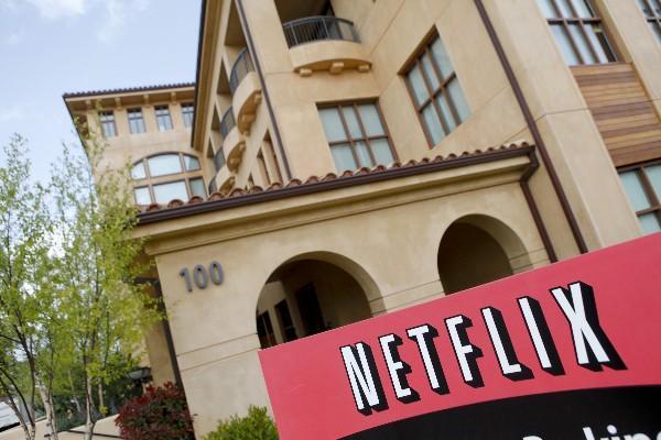 Sede de Netflix en California, Estados Unidos.
