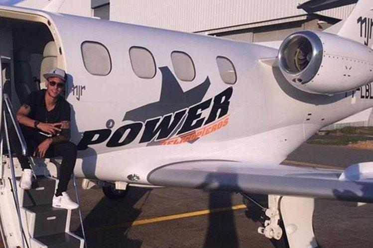 Neymar se queda sin sus propiedad en Brasil, donde incluye un avión y un yate. (Foto redes sociales).