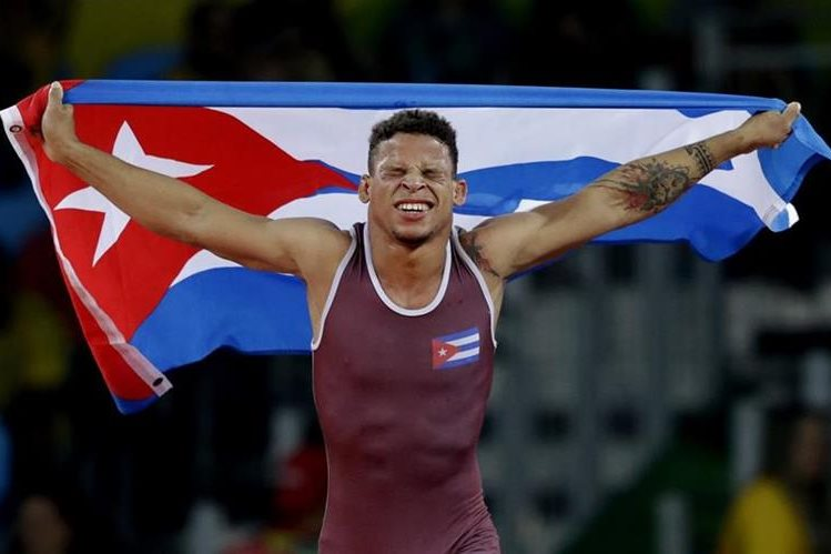 Borrero Molina es el orgullo de Cuba en los Juegos Olímpícos 2016. (Foto Prensa Libre: AP)