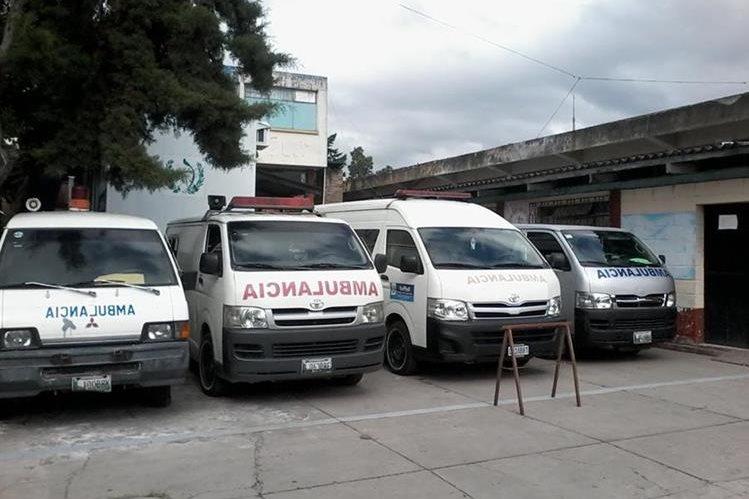 Hospital Nacional de Jalapa no tiene gasolina para trasladar a los pacientes. (Foto Prensa Libre: Hugo Oliva)