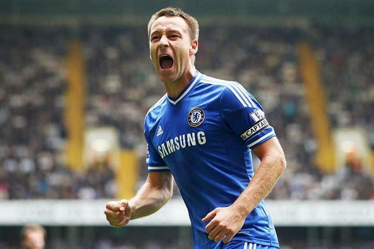 John Terry recibió una propuesta para continuar por un año más con el Chelsea. (Foto Prensa Libre: Hemeroteca)