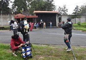 """Parte del rodaje de la película """"Hogar dulce hogar"""" se realizó en las afueras de Hogar Seguro Virgen de la Asunción. (Foto Prensa Libre: Cortesía Casa Comal)"""