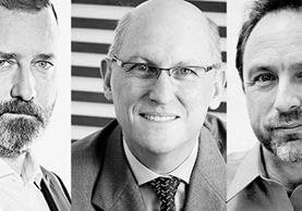 Kevin Ashton, precursor del Internet de las cosas, Luis Verdi, CCO y Senior VP de Innovación SAP LATAM y Jimmy Wales, fundador de Wikipedia son los conferencistas invitados del Tigo Business Forum 2017. (Foto Prensa Libre: Cortesía)