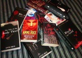 Los relatos de Anne Rice se convertirá en serie para la pequeña pantalla. (Foto Prensa Libre: Hemeroteca PL)