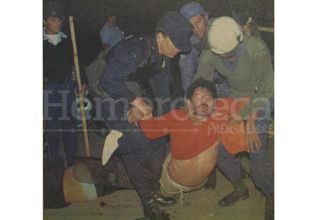 Un informe de los hechos determinó que la Policía utilizó fuerza excesiva en contra de los manifestantes. (Foto: Hemeroteca PL)