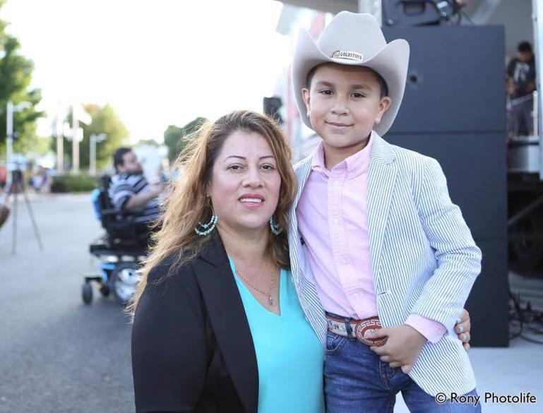 Annie López, originaria de San Marcos, es la madre de Jossué Girón. (Foto Prensa Libre: Cortesía)