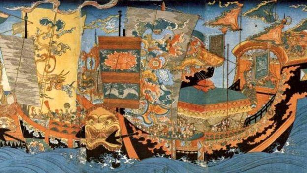 Qin Shi Huang estaba obsesionado con la inmortalidad, y envió a Xu Fu en un viaje en busca del elixir de la vida. ALAMY