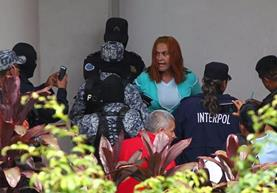 La Patrona fue recaptura en Santa Ana, El Salvador. Mingob ofrecía Q100 mil de recompensa para dar con su paradero. (La Prensa Gráfica)