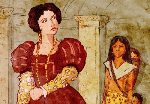 Beatriz de la Cueva, ilustración de Marilyn Scott-Waters. (Foto: Internet)