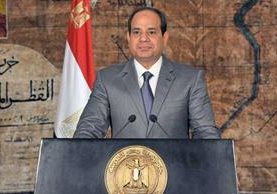<em>&nbsp;Abdul Fatá el Sisi, promulgó una nueva ley antiterrorista.</em>