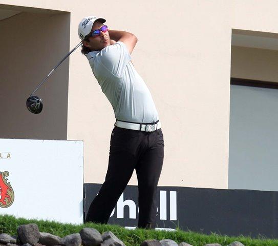 El golfista José Toledo fue el mejor ubicado de los guatemaltecos. (Foto Prensa Libre: Carlos Vicente)