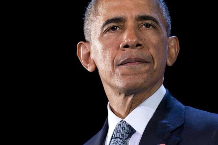 Barack Obama se mantiene firme en su plan de acoger a refugiados sirios. (Foto Prensa Libre: AFP).