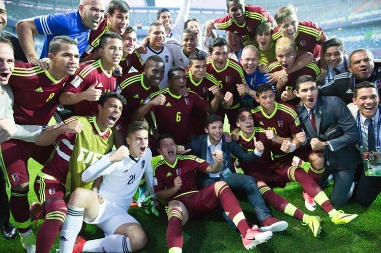 Mundial Sub 20: los jugadores de Uruguay y Venezuela a las trompadas