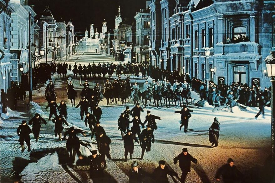 Detallista y perfeccionista como pocos, Lean, su director construyó una Moscú prácticamente real. (Foto Prensa Libre. Hemeroteca PL)