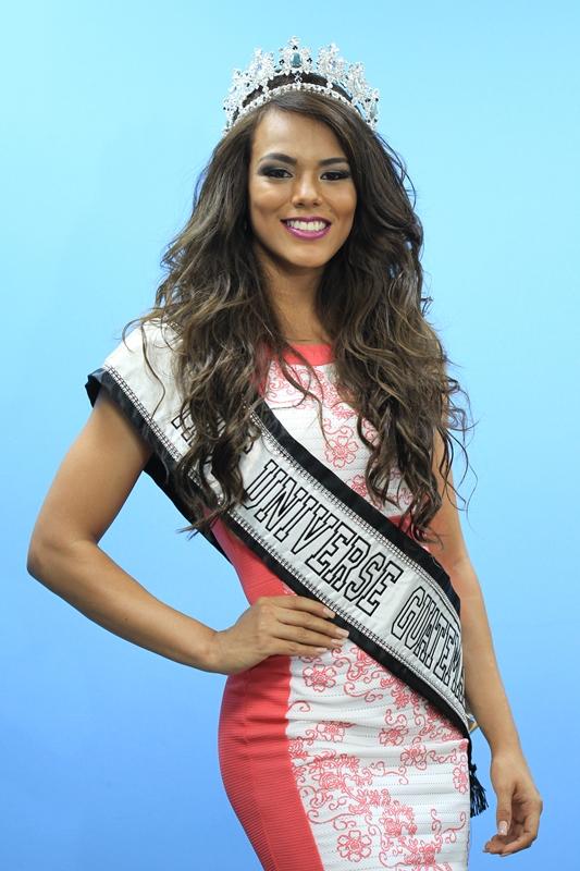 La nueva Miss Universo Guatemala le apuesta a la belleza integral. (Foto Prensa Libre: Esbin García)