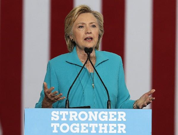 Hillary Clinton,candidata presidencial demócrata 2016.(AP).