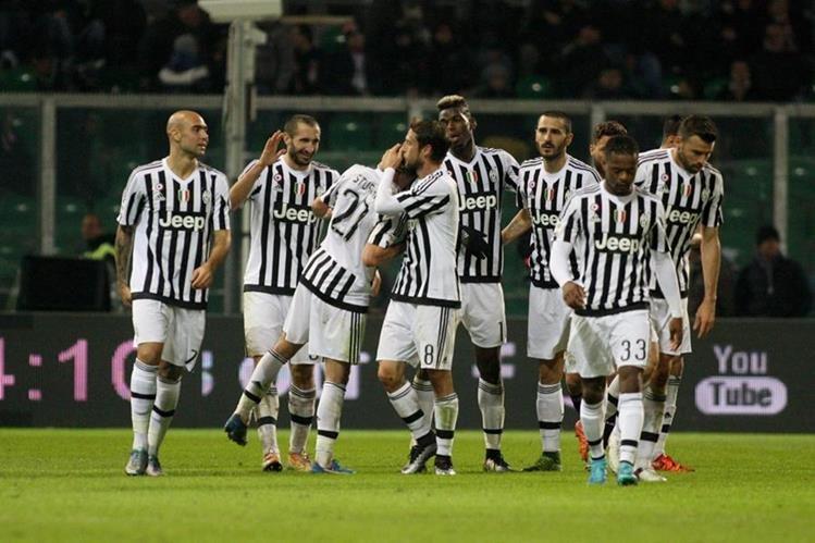 La Juventus de Turín llega a este partido luego de vencer al Palermo el fin de semana anterior. (Foto Prensa Libre: Hemeroteca)